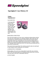 Speedglas Fresh-air case history